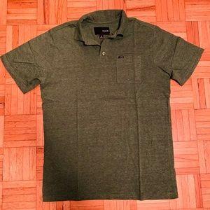 ⭐️$5 ADD ON ITEM⭐️ Hurley heather grey soft polo